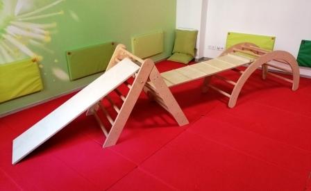 Bogen-Dreieck-Set groß