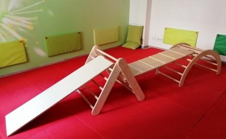 Bogen-Dreieck-Set midi
