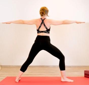 Yoga Rückenfit Übung